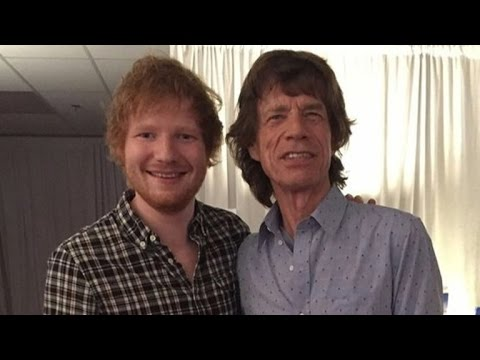 Ed Sheeran Joins The Rolling Stones for Amazing