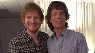Ed Sheeran Joins The Rolling Stones for Amazing 'Beast of Burden' Duet!