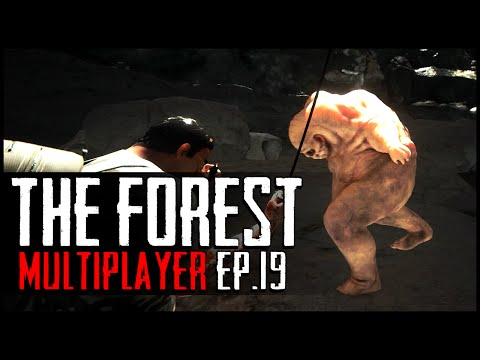 The Forest Multiplayer - Ep.19 : New Creature & Bottom of the Crater!