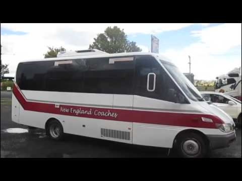 Brisbane to Sydney by train and bus. John Coyle video