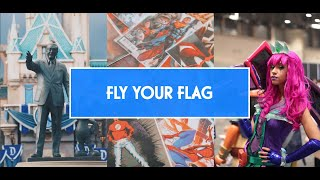 Welcome To Kulture Popped- FLY YOUR FLAG!
