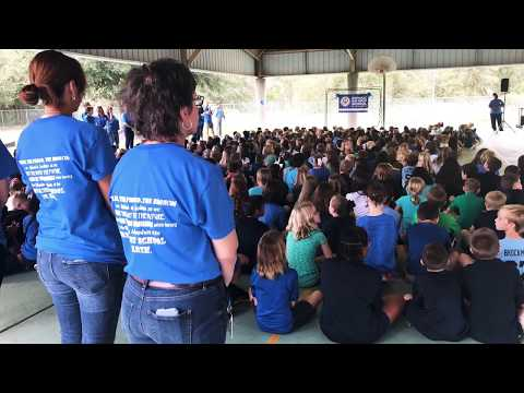 Bevis Elementary School receives National Blue Ribbon Award