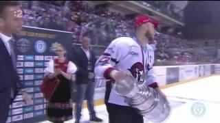 Tomáš Zigo zdvihol nad hlavu majstrovský pohár a pomodlil sa za svoju mamu.