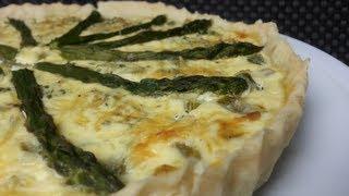 HOW TO MAKE AN ASPARAGUS TART (Vegetarian Recipe)