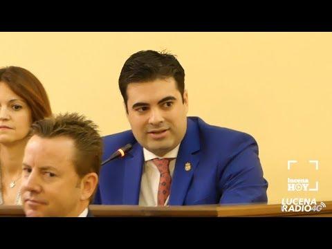 Intervención Jesús López (Ciudadanos) en el pleno de constitución de la nueva corporación