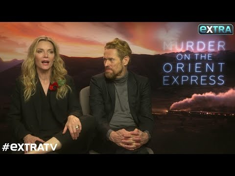 Michelle Pfeiffer on Kenneth Branagh's Epic Mustache in 'Murder on the Orient Express'