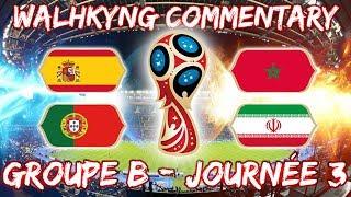 🔴 [LIVE] LIVE REACTION   ESPAGNE VS MAROC ET PORTUGAL VS IRAN   #VICPFAMILY