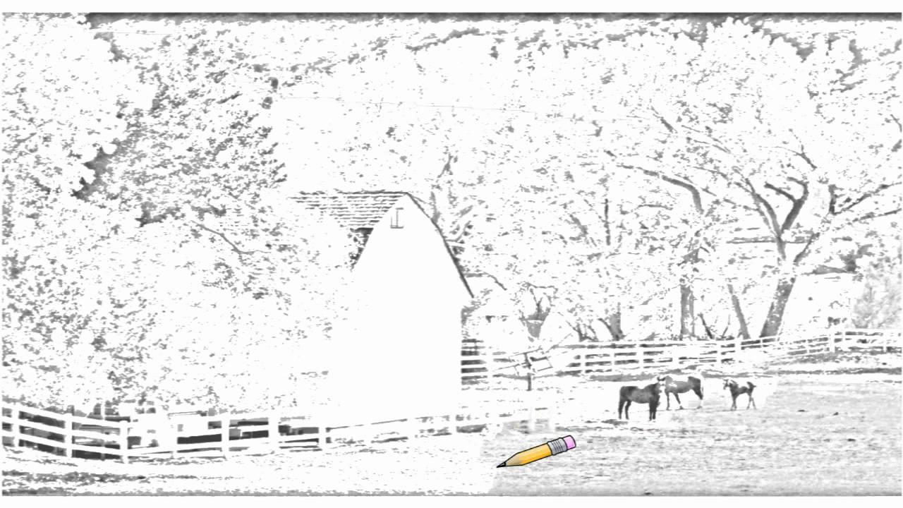 Auto Draw 2 Autumn Country Farm Youtube