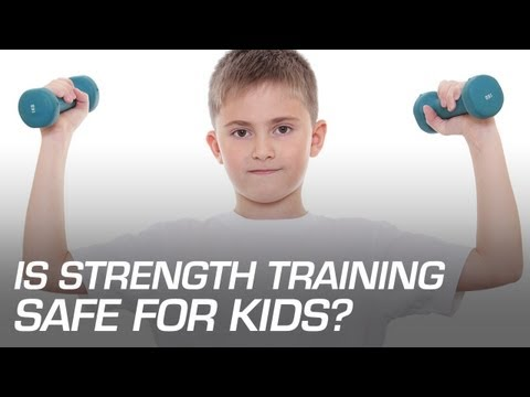 Exercise for children Is Weight Training Safe