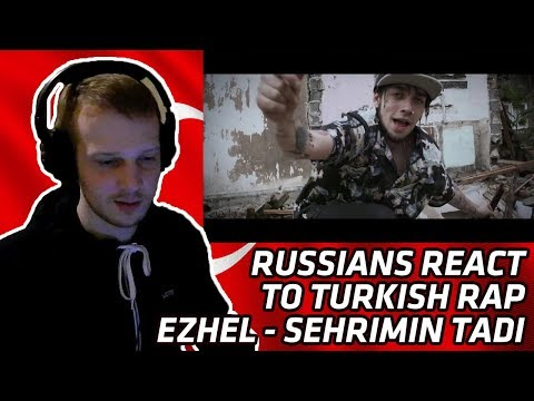 RUSSIANS REACT TO TURKISH RAP | Ezhel - Şehrimin Tadı | REACTION TO TURKISH MUSIC