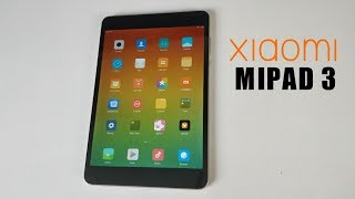 Xiaomi MIPAD 3 Tablet Review - 2K Retina Display - HEXA-CORE -  4GB/64GB
