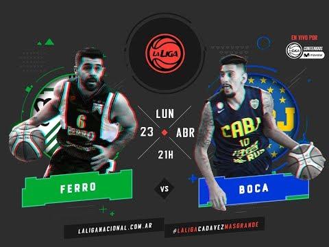 Liga Nacional: Ferro vs. Boca | #LaLigaEnTyCSports