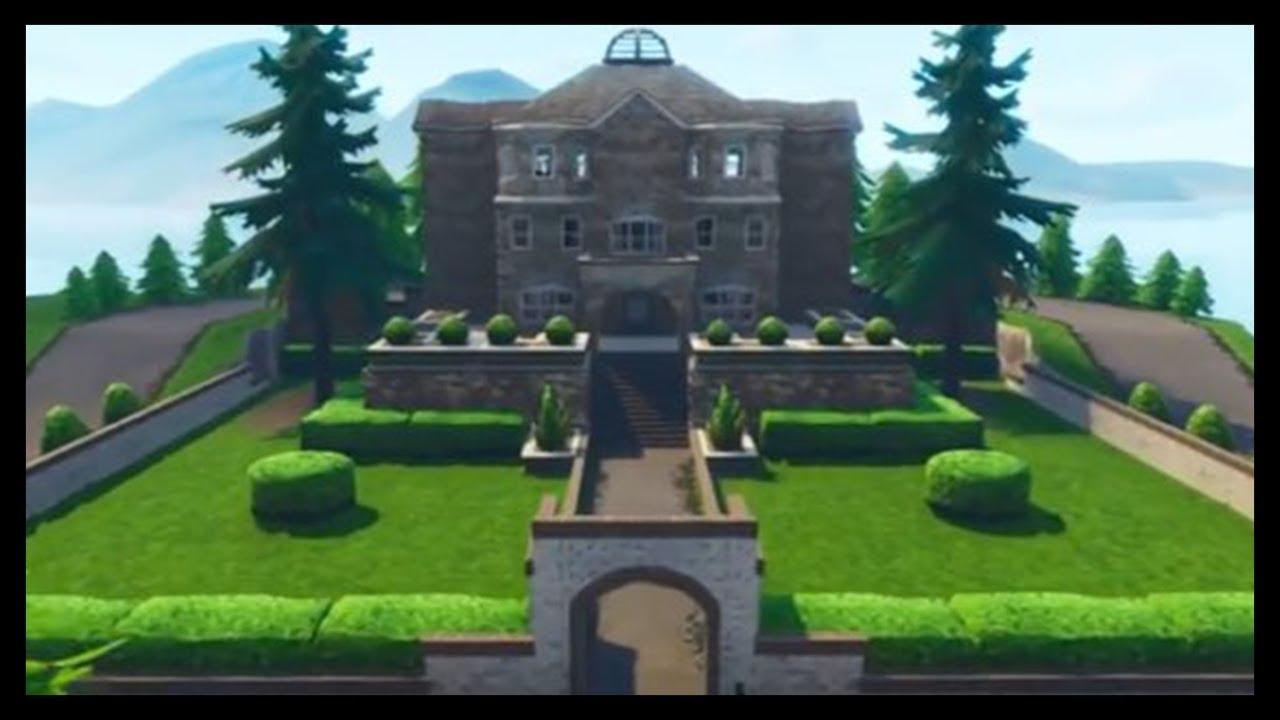 Fortnite Season 4 Map Update New Location Secret Superhero Mansion Battle Royale