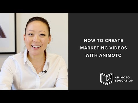 How to Create Marketing Videos with Animoto