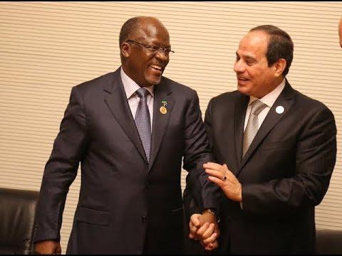 LIVE: Mapokezi ya Rais Abdel Fattah El-Sisi wa Mirsi Ikulu -Dar
