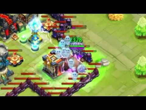 Castle Clash New Hero Rhino Gameplay