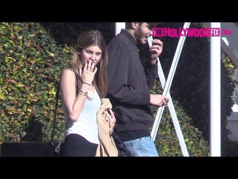 Camila Morrone Has Lunch With Her Boyfriend Fai Kahara At Fred Segal 12.18.16