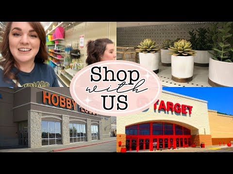 SHOP WITH US | SHOP WITH ME AT HOBBY LOBBY & TARGET | HOME DECOR IDEAS | Naomi Rose