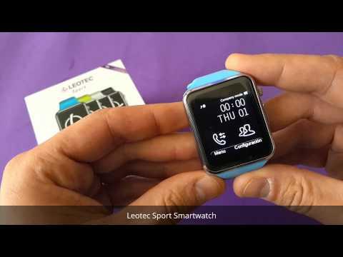 Leotec Sport Smartwatch - Review en español