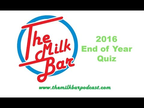 End of Year Quiz   2016
