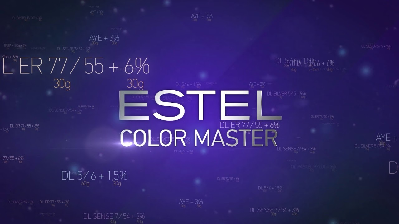 ESTEL Color Master - by UNICOSMETIC LTD - Education Category