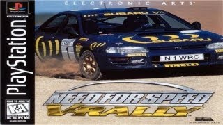 Need For Speed V-Rally PS1 Gameplay