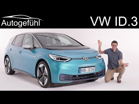 all-new EV Volkswagen ID.3 Premiere REVIEW Exterior Interior - Autogefühl