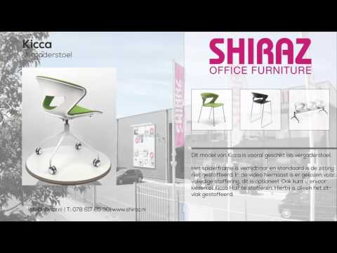 360º view | Kicca vergaderstoel | Shiraz Office Furniture