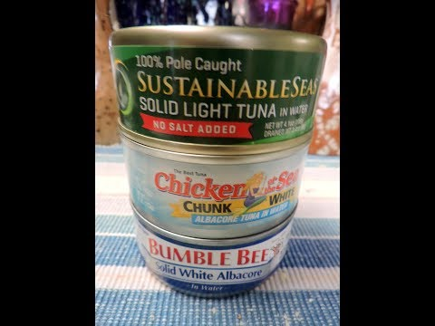 Canned Tuna. What's The Healthiest Brand