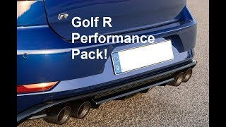 2017 Mk7.5 Golf R Performance Pack - My thoughts