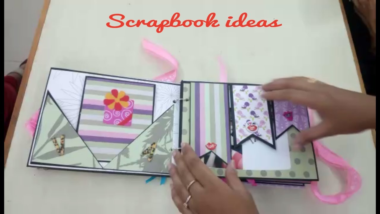 Scrapbook Ideas Diy Creative And Beautiful Birthdayvalentine