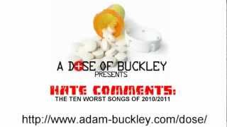 Hate Comments - The Ten Worst Songs Of 2010/2011
