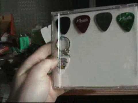 guitar pick display case - YouTube