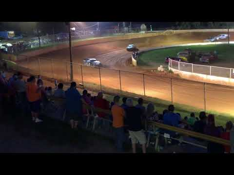 """Carl """"MailMan"""" Maree #2 Renegade - East Lincoln Speedway, Main Race- VICTORY LANE! 7/13/2019"""