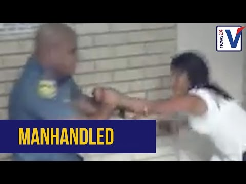 WATCH: Woman manhandled at a Cape Town police station