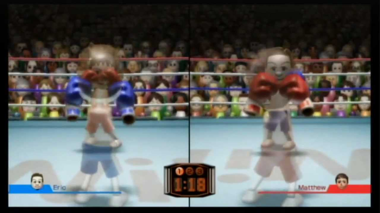 how to win in boxing wii