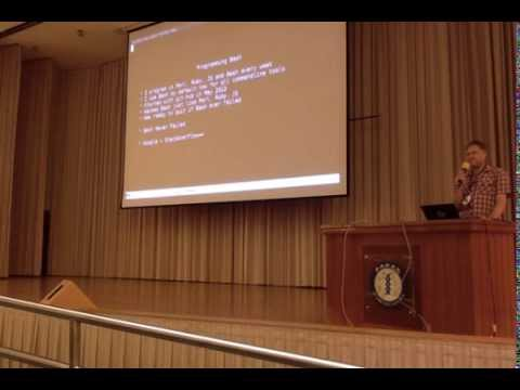 Ingy döt Net BASH programming talk at OSDC.tw 2014