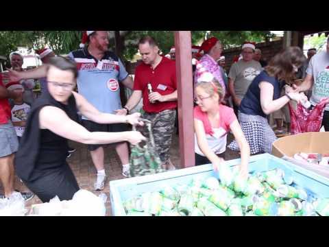 Foodbank Christmas Hamper Packing 2015