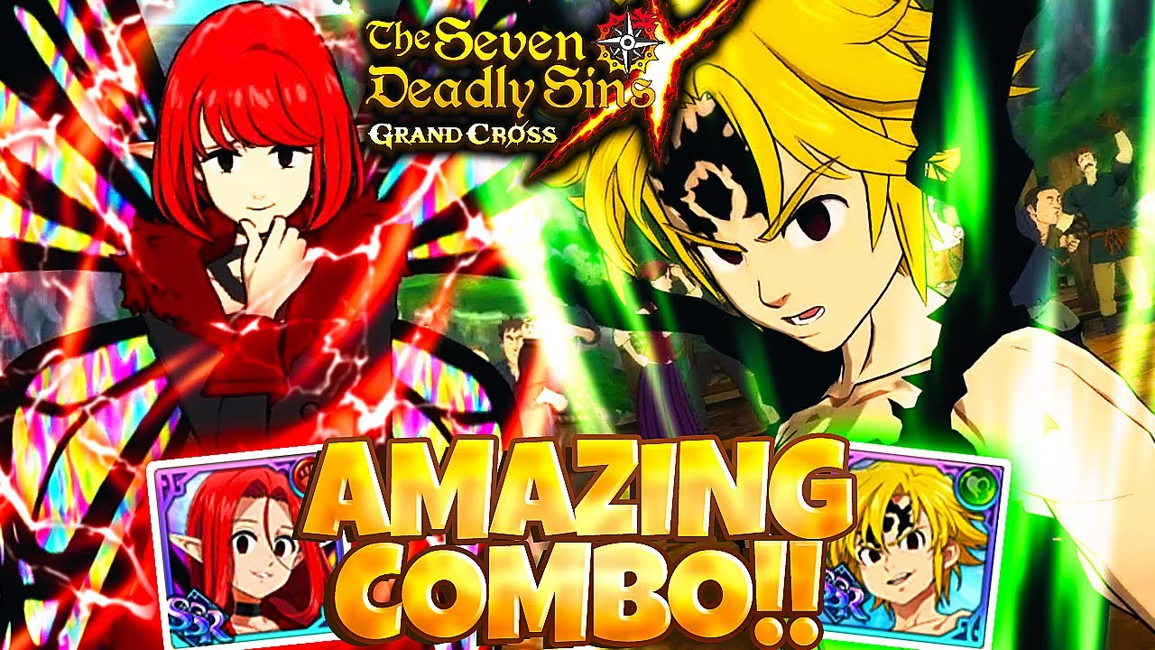 AMAZING ASSAULT MELIODAS + GLOXINIA COMBO!!! THEY DON'T EXPECT IT!! | Seven Deadly Sins: Grand Cross