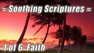 "BIBLE STUDY on the Beach ""FAITH"" SOOTHING SCRIPTURES #1 Worship Gospel Prayer Christian Video"