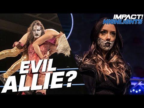 A Demonic Allie BETRAYS Kiera Hogan!  IMPACT! Highlights Nov 15, 2018