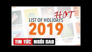 LIST: 2019 Philippine Holidays | Tin Tức Ngôi Sao