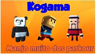Kogama - Sou a mestre do parkour!