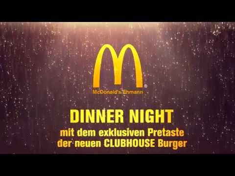 Mcdonald S Ehmann Dinner Night Youtube