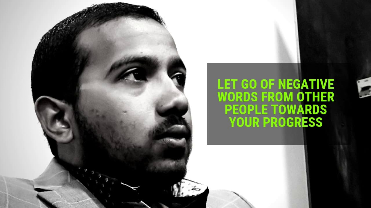 LET GO OF NEGATIVE WORDS OF PEOPLE TOWARDS YOUR PROGRESS, Daily Promise and Powerful Prayers