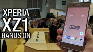 Sony XPERIA XZ1 (and XZ1 Compact) Hands ON