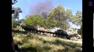 Война видео Украина Донбас  АТО Ополченцы накрыли огнем базу техники ВСУ ДНР Украина   YouTube