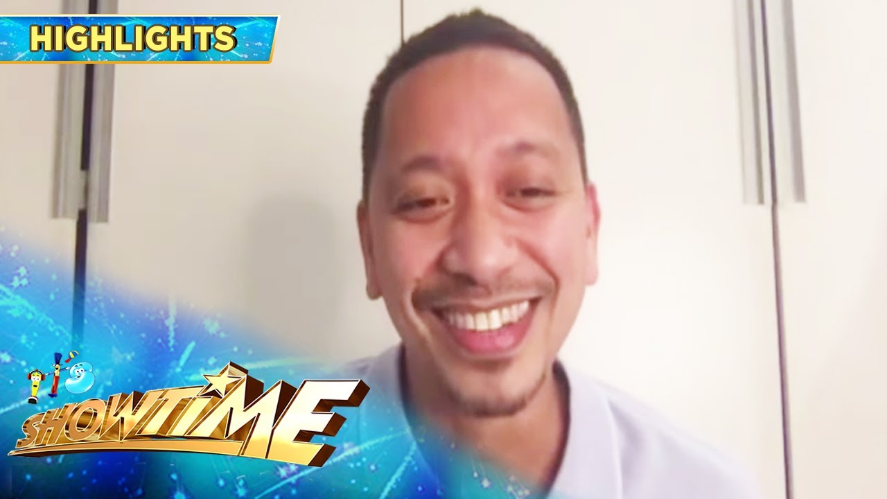 Jhong Hilario surprises his Showtime family this Father's day!   It's Showtime