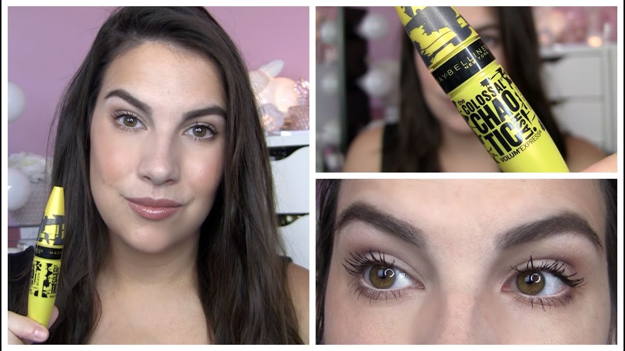 72a2ba78888 Maybelline The Colossal Chaotic Mascara - YouTube