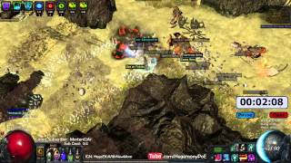 Path of Exile Act 4: Epic Momma Prelim Gorge Speed Run